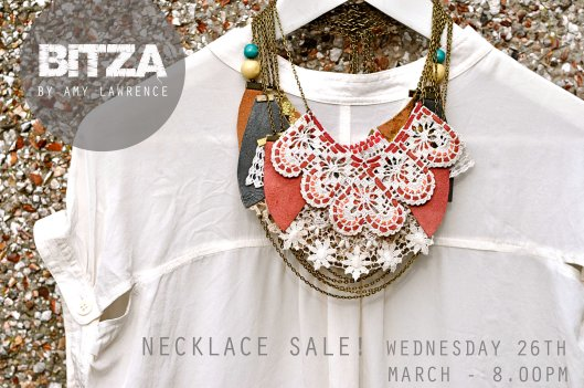 BITZA necklace sale!